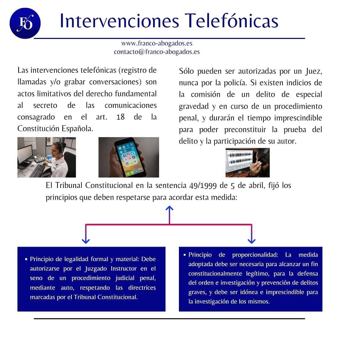 Intervenciones y Escuchas Telefónicas